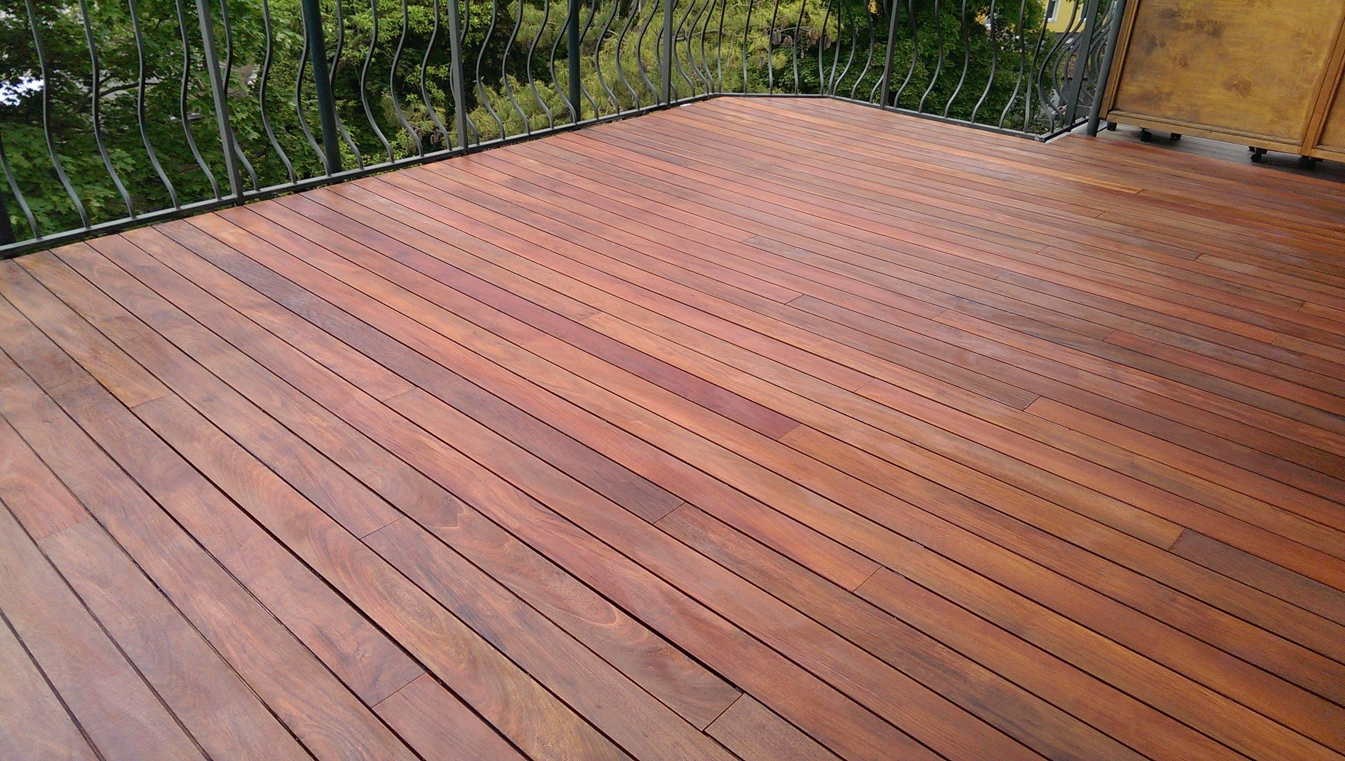 Terrassen   Holzboden   Holzdielen abschleifen und neu ölen   D.B. ...